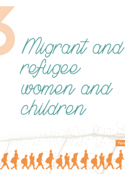 Migrant and refugee women and children