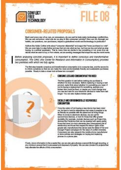 Consumer-related proposals